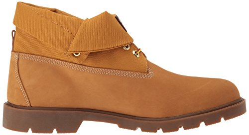 Ankle Boot Basic Cordura Timberland Top Single Men's Nubuck Roll Wheat 5Y4wgwXq