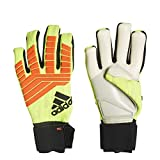 adidas Predator PRO Goalkeeper Gloves (Solar Yellow/Solar Red/Black - Size 11.0)