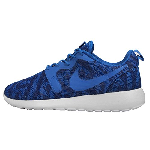 Blue Knit Zapatilla soar Pltnm Sintético Deep Run Jacquard Royal Deportiva Roshe pr Material Mujer Nike De OIZEw7qKOH