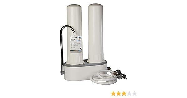 Doulton HCP Double W9380003, Filtro purificador de agua, doble ...