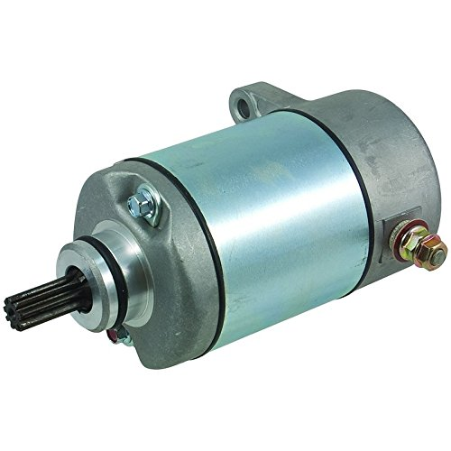 New Starter For 2004-2007 Honda FourTrax Rancher TRX400FA/TRX400FGA Automatic Transmission 12V CCW 9-Spline Shaft 31566-C18-36, 31200-HN7-003 ()