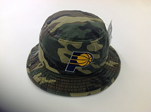 indiana pacers Adidas NBA Bucket Hat - Camouflage by adidas