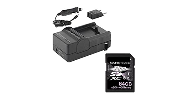 SDM-1550 Charger HDMI6FM AV /& HDMI Cable Syenrgy Digital Camcorder Accessory Kit Works with JVC GZ-E300 Camcorder includes
