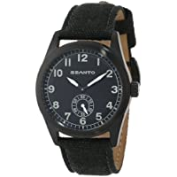 Szanto Men's SZ 1001 1000 Series Vintage-Inspired Military Field Watch