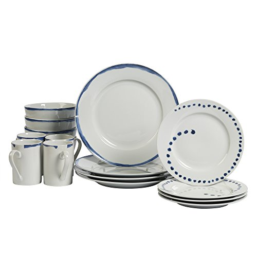 Tabletops Unlimited, Inc 16pc Dinnerware Set - -