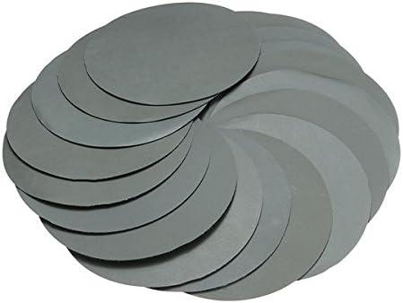 KUNSE 20 Stück 6-Inch-Schleifscheiben 3000 Grit 150Mm Schleif Polier Polster
