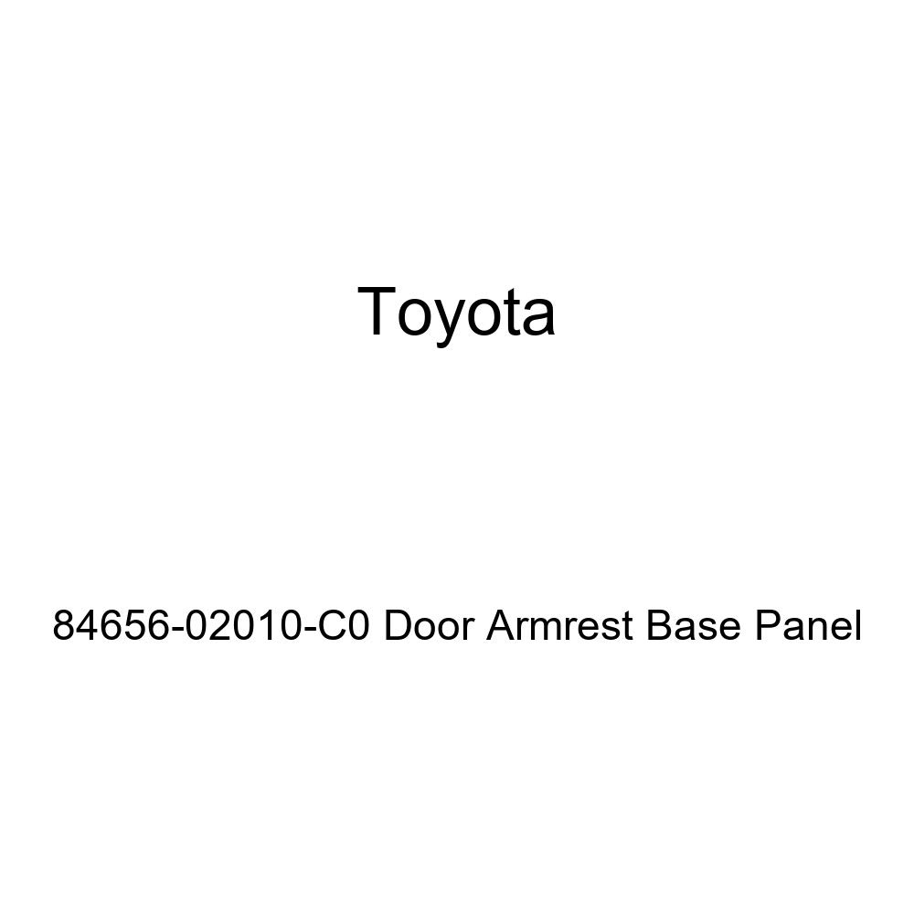 TOYOTA Genuine 84656-02010-C0 Door Armrest Base Panel