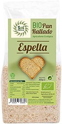 Sol Natural Pan Rallado de Espelta - Paquete de 6 x 300 gr - Total ...