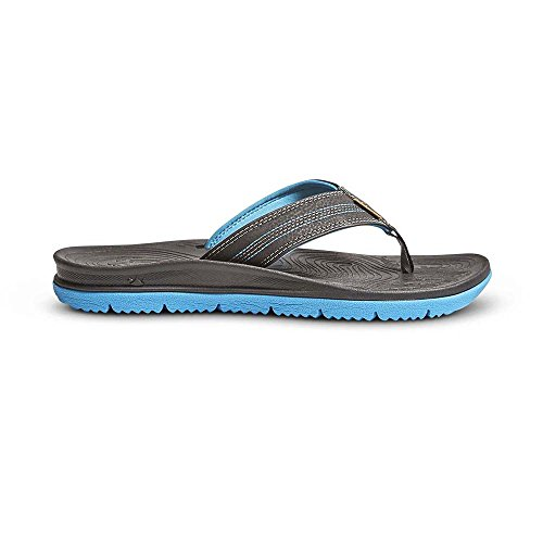 Freewaters Mens Tall Boy Sandals & Travel Zonnebrandcrème Bundel Zwart / Blauw