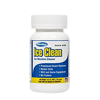 ComStar 90-365 Ice Clean - Powdered Ice Machine Cleaner, 4 oz. Bottle,White