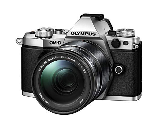 Olympus OM-D E-M5 Mark II Weather Sealed Kit with 14-150mm Lens, 3″ LCD, Silver Review