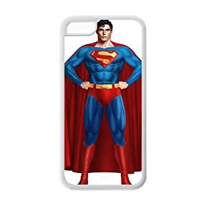 Custom Superman Back Cover Case for iphone 5C JN5C-144