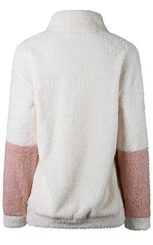 Cappotto Ecowish Manica Bianco Donna Lunga rrdzxqSA