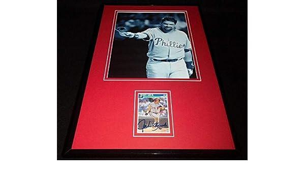 Signed John Kruk Photo - Framed 11x17 Display Padres ESPN