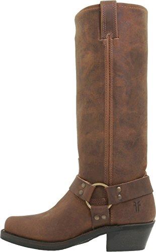 (FRYE Women's Harness 15R Boot, Tan, 6 M US)