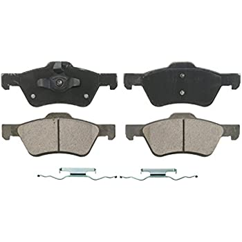 ACDelco 14D1055C Advantage Ceramic Rear Disc Brake Pad Set