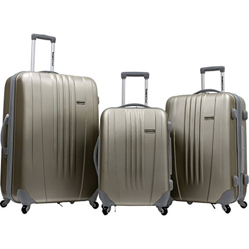 Traveler's Choice Toronto 3-Piece Hardside Lightweight Expan