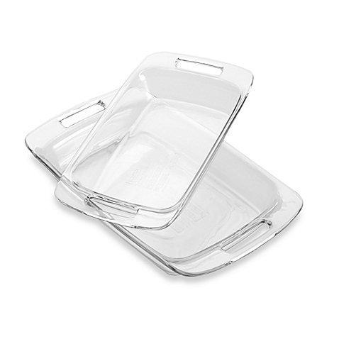 Pyrex Advantage 2 Piece Oblong Baking Dish Set