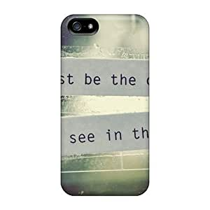 Excellent Design Be The Change Case Cover For Iphone 5/5s