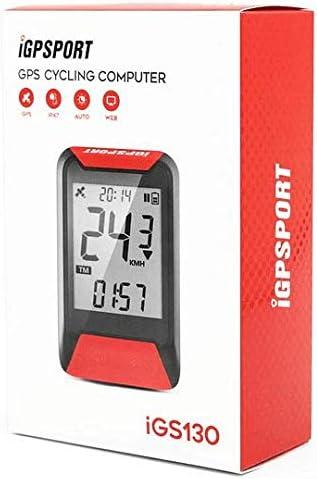iGPSPORT iGS130 (Versión española) - Ciclo computador GPS Bicicleta Ciclismo. Cuantificación y grabación Datos y rutas. Sencillez de Uso. IPX7. ROJO: Amazon.es: Deportes y aire libre