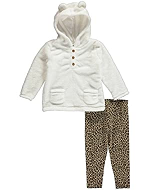 Baby Girls' 2 Piece Set - White - 18 Months