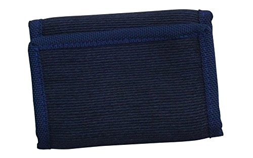 Green Breeze Imports Navy-Blue RFID Shielded Natural Abaca Fiber Large Wallet -
