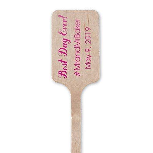 Party Stir Sticks, Wedding Stir Sticks, Custom name,