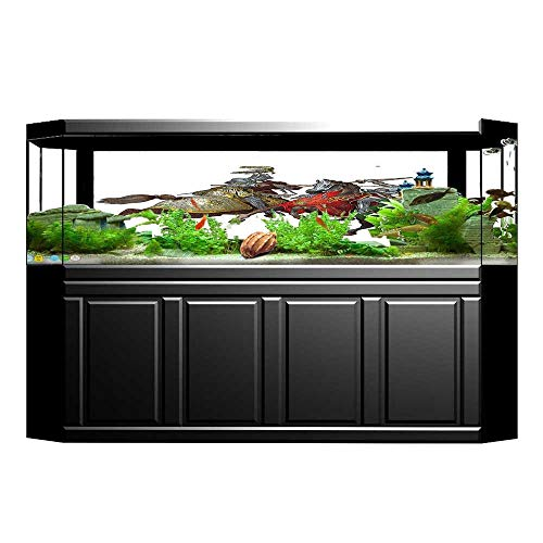 Jiahong Pan Aquarium Background Middle Age Fighters Knights with Costume Renaissance Period Wallpaper Fish Tank Backdrop Static Cling L35.4 x H15.7 for $<!--$27.99-->