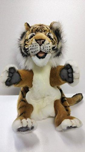 (Hansa Toys USA 4039 Plush Hand Puppet Tiger )