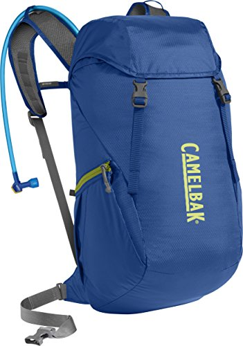CamelBak 2016 Arete 22 Hydration Pack, Olympian Blue/Green Oasis