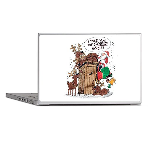 Laptop Notebook 13 Inch Skin Cover Santa Claus Told The Schmidt House ()