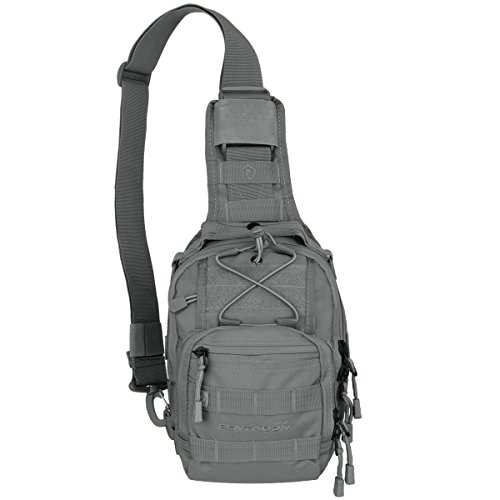 Grey Backpack UCB Wolf Pentagon Chest dwIEpqU