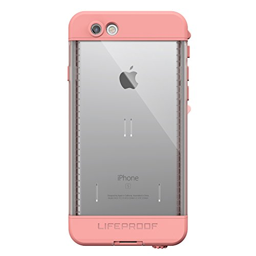 Lifeproof NÜÜD SERIES iPhone 6s ONLY Waterproof Case - Retail Packaging - FIRST LIGHT (PINK JELLYFISH/CLEAR/SEASHELLS PINK)