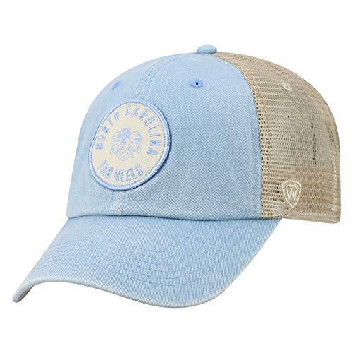 Top of the World North Carolina Tar Heels Official NCAA Adjustable Keepsake Soft Mesh Cotton Hat Cap 428758 -
