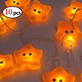 elegantstunning 1.8M 10LEDs Cute Animal String Light for Home Party Christmas Decoration Night Lamp (10pcs)