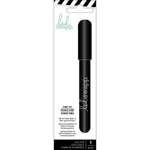 Heidi Swapp 314118 Fine Tip Glue Pen, Gray American Crafts Precision Pen