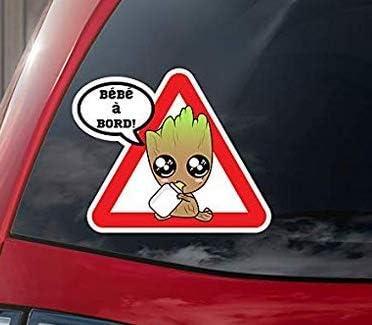 Sticker B/éb/é /à bord B/éb/é Groot /à bord autocollant en couleur
