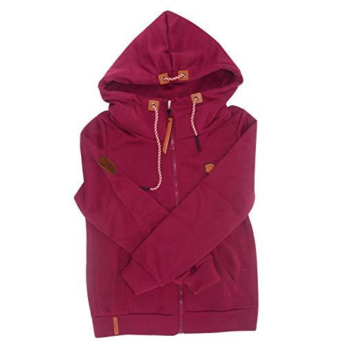 GOVOW 2018 Fleece Hooded Jacket Men Fuzzy Zipper Sweater Jacket Outwear Coat Plus Size
