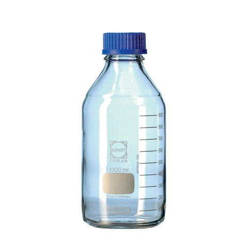 DURAN 21 801 24 Laboratory Bottle with Din Thread, 100 ml Capacity (Pack of 10) Duran Group GmbH