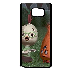Comic Chicken Little Phone Case Protector Cover Case for Samsung Galaxy Note 5 Modish Visual Chicken Little Pattern Cover