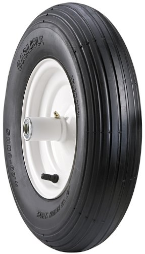 Carlisle Wheel Barrow Wheelbarrow Tire - 480-8 by Carlisle