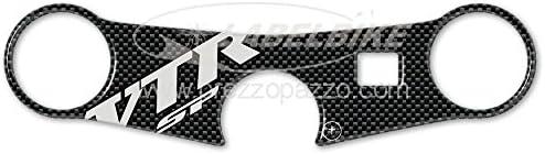 Adhesivos 3D Compatible para Moto Honda VTR SP1-SP2 Protecci/ón Placa Horquilla