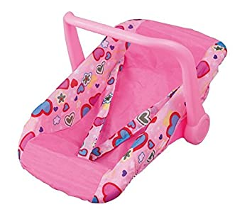 Toy Doll Car Seat Carrier With Carrying Handle Fits Any Dolls 12 18 Inches