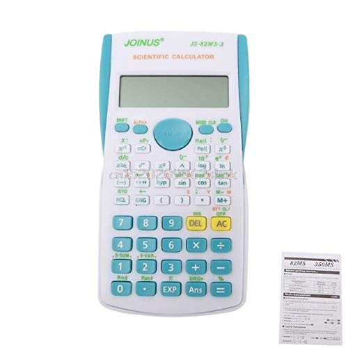 JohnnyBui - Scientific Calculator 240 Functions 2 Line Display 12 Digital Electronic Scientific Calculator #H029# from JohnnyBui
