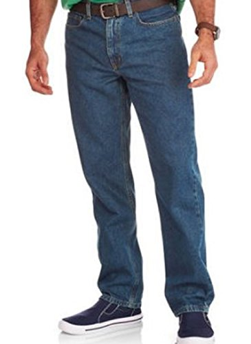 (Faded Glory Men's Relaxed Fit Blue Jeans (Regular and Big & Tall Sizes) (38W x 34L, Medium Wash))