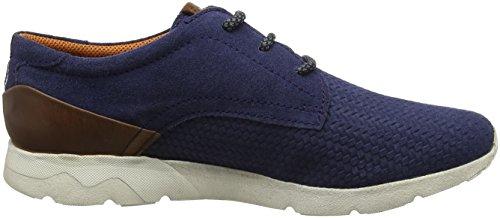 Bugatti Herren 321342061400 Sneaker Blau (Dark Blue)