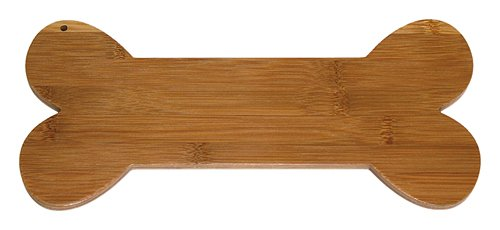 Bone 12x12 (A Pet Project APCB01 APetProject Bamboo Dog Bone Cutting Board 12X5.5X0.375 Brown)