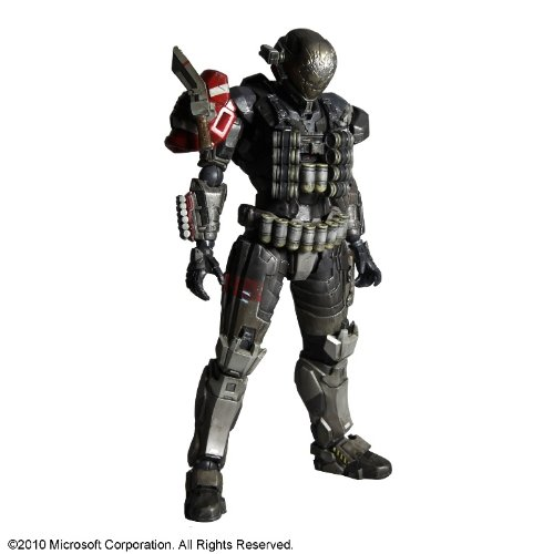 Square Enix Halo Reach Play Arts Series 1 Emile Action Figure