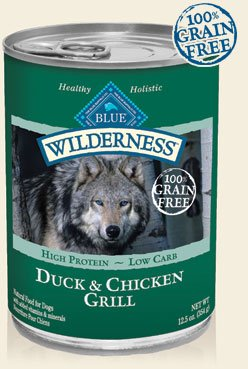 Blue Buffalo Wilderness Duck & Chicken Grill Canned Dog Food