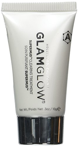 GlamGlow --SUPER MUD Clearing Treatment -- Travel Size Tube .3 oz / 10g -- SMALLER SIZE